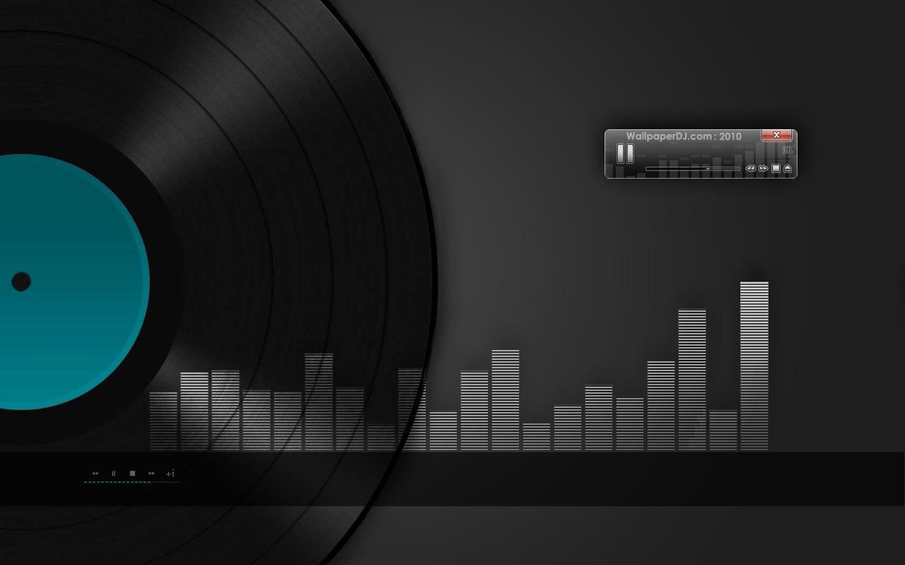 1280x800 i play vinyl wallpaper music and dance wallpapers for Vinyl wallpaper