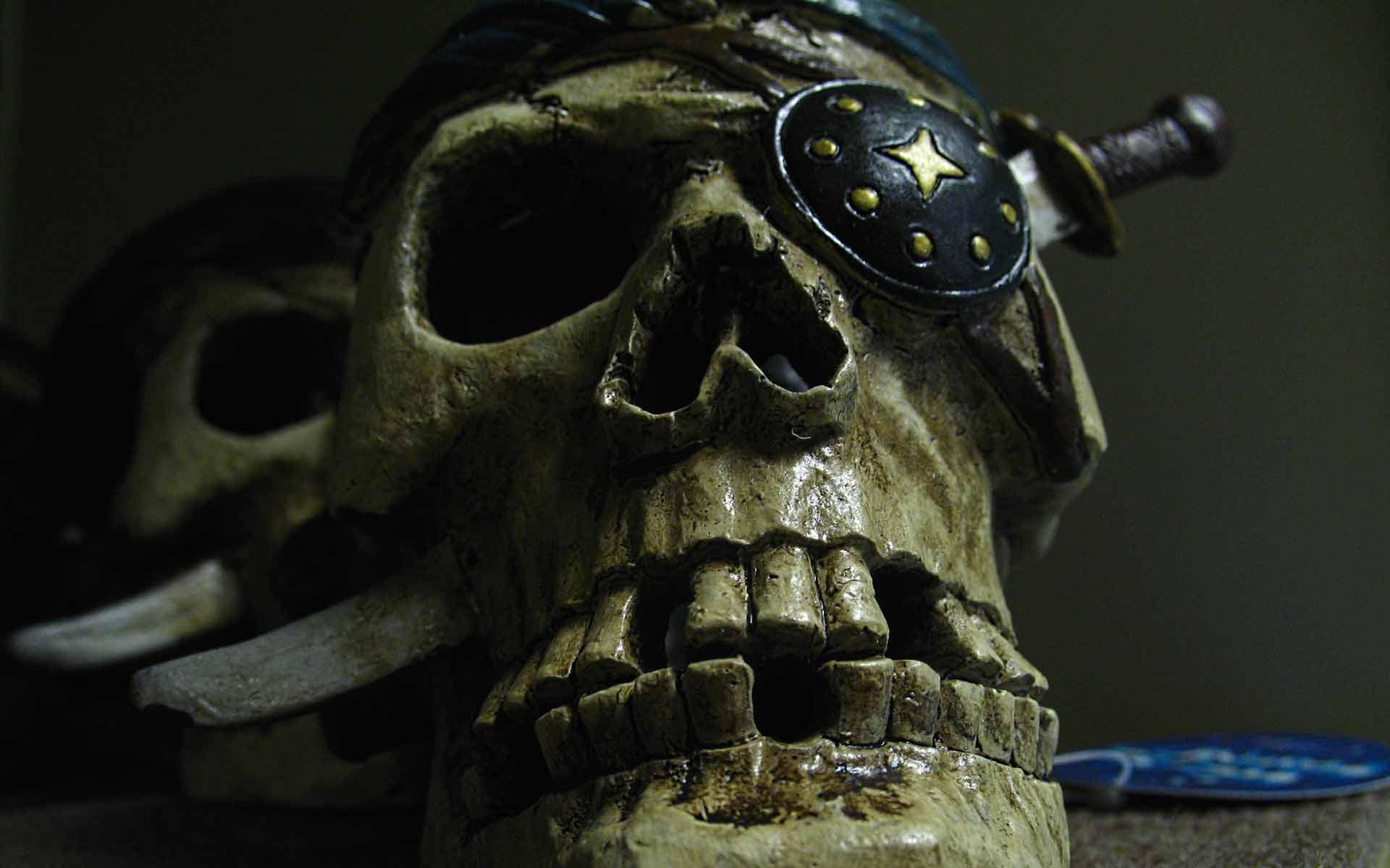 zombie skull wallpapers for desktop - photo #16
