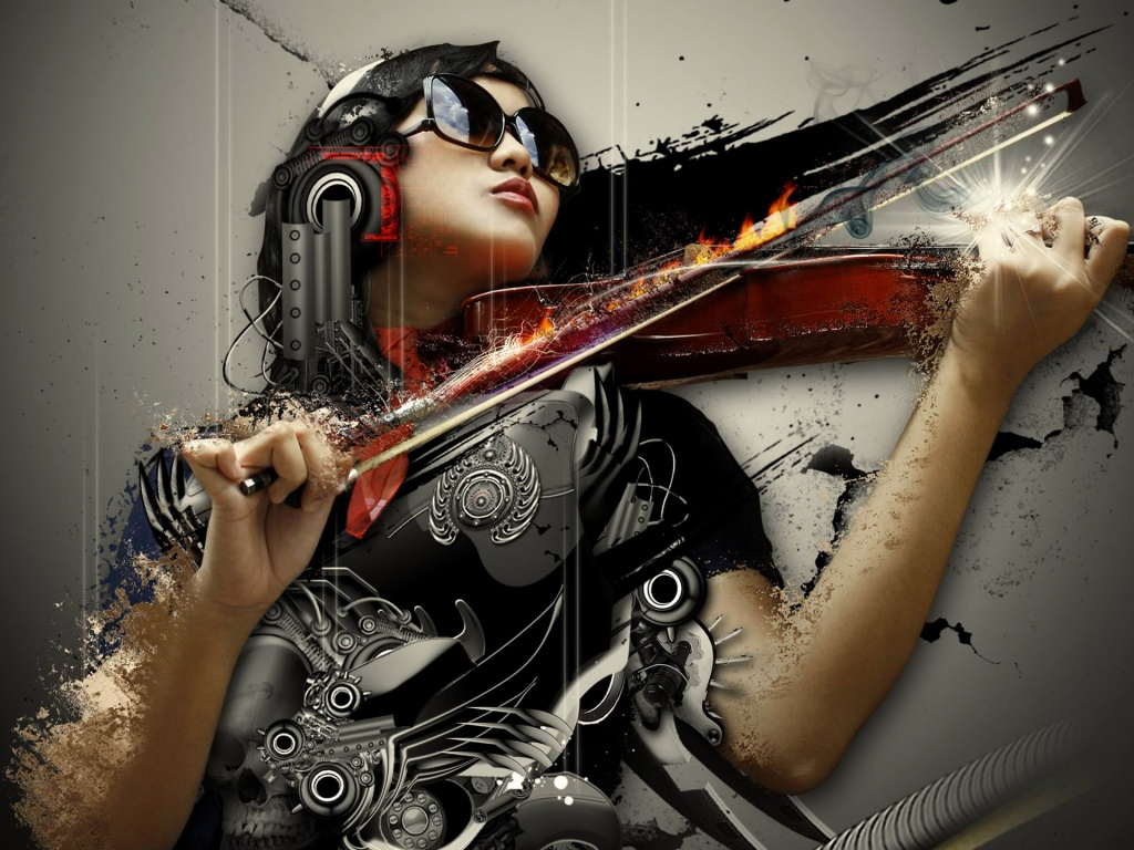 1024x768 sad symphony wallpaper music and dance wallpapers
