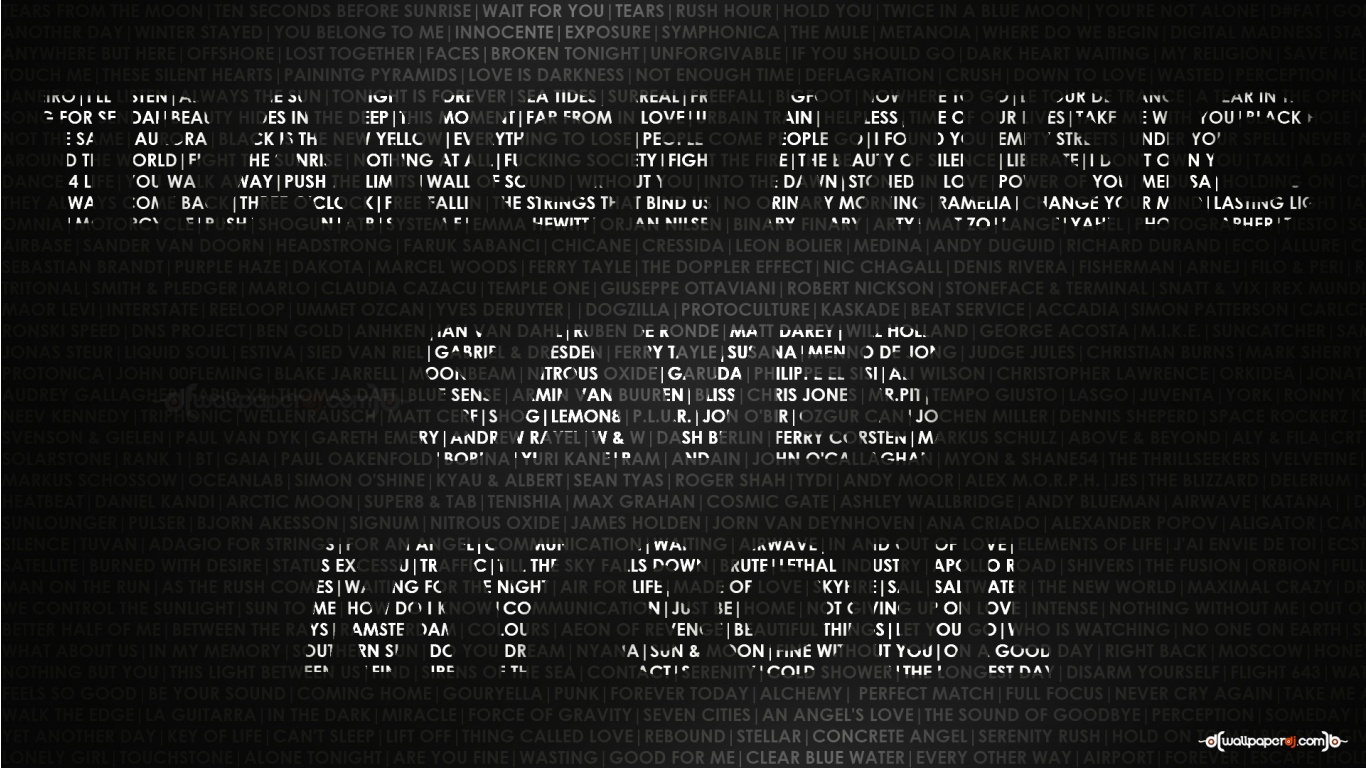 1366x768 trance music saves my soul wallpaper music and