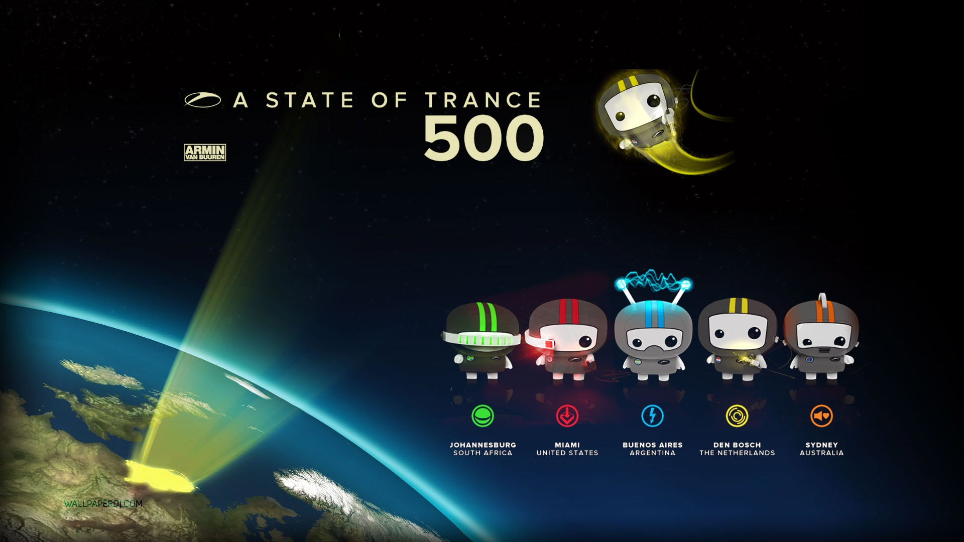A State Of Trance 500 HD and Wide Wallpapers