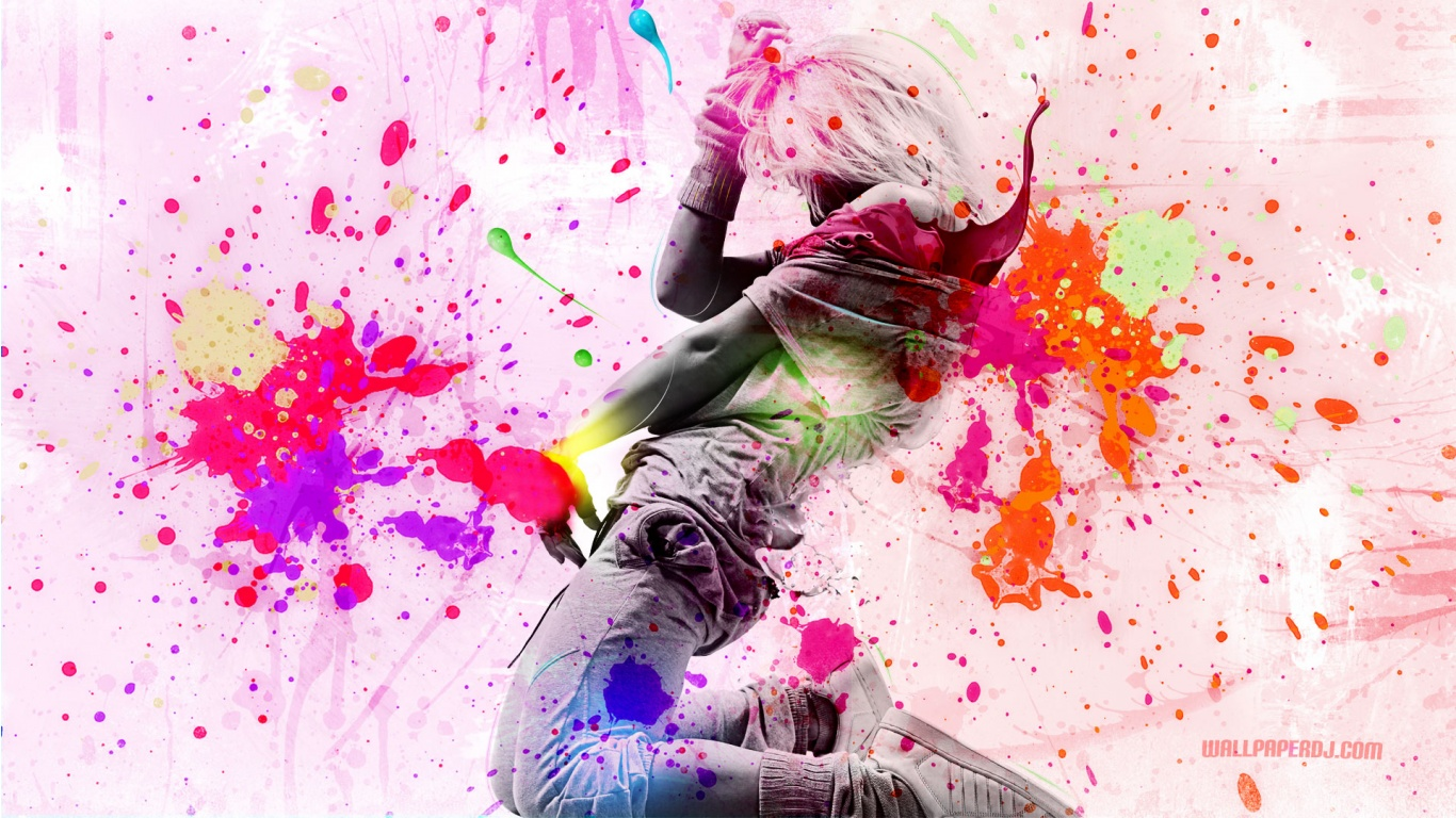 Dancing With Colors HD and Wide Wallpapers