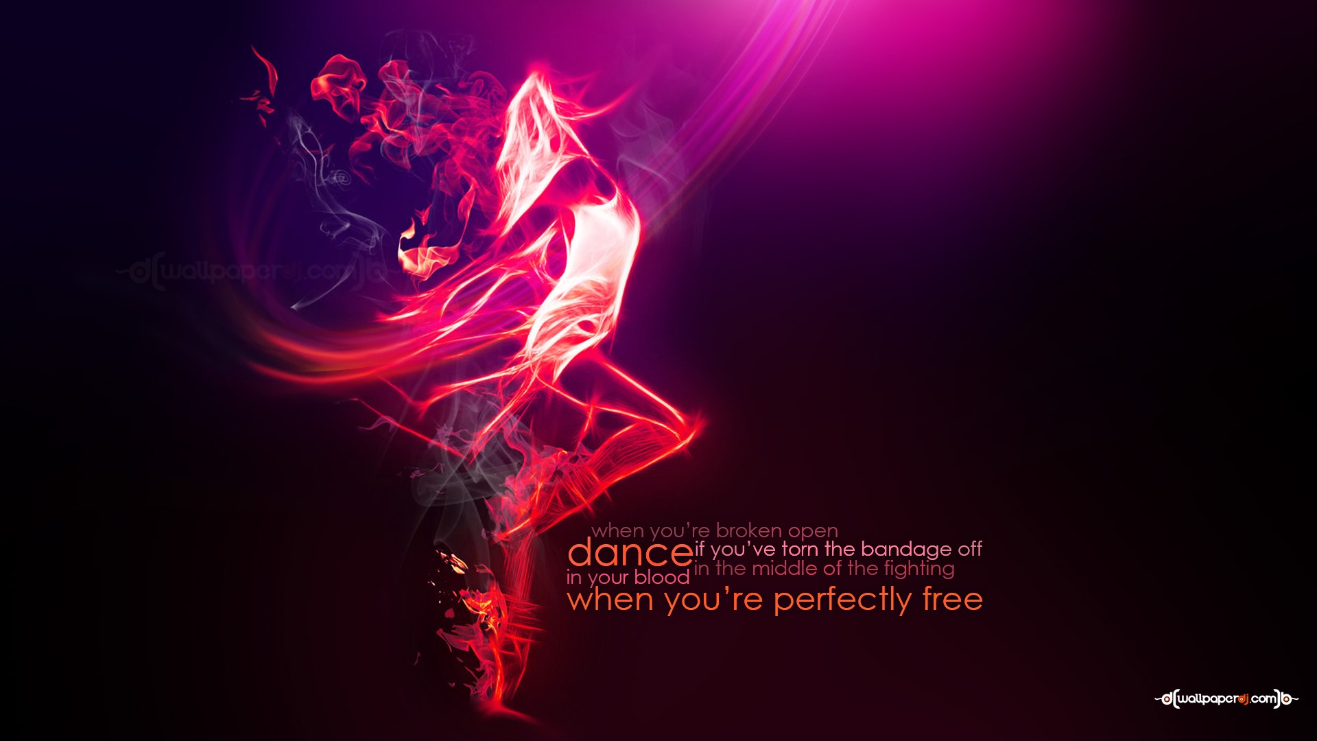 Dancing With Fire  HD and Wide Wallpapers