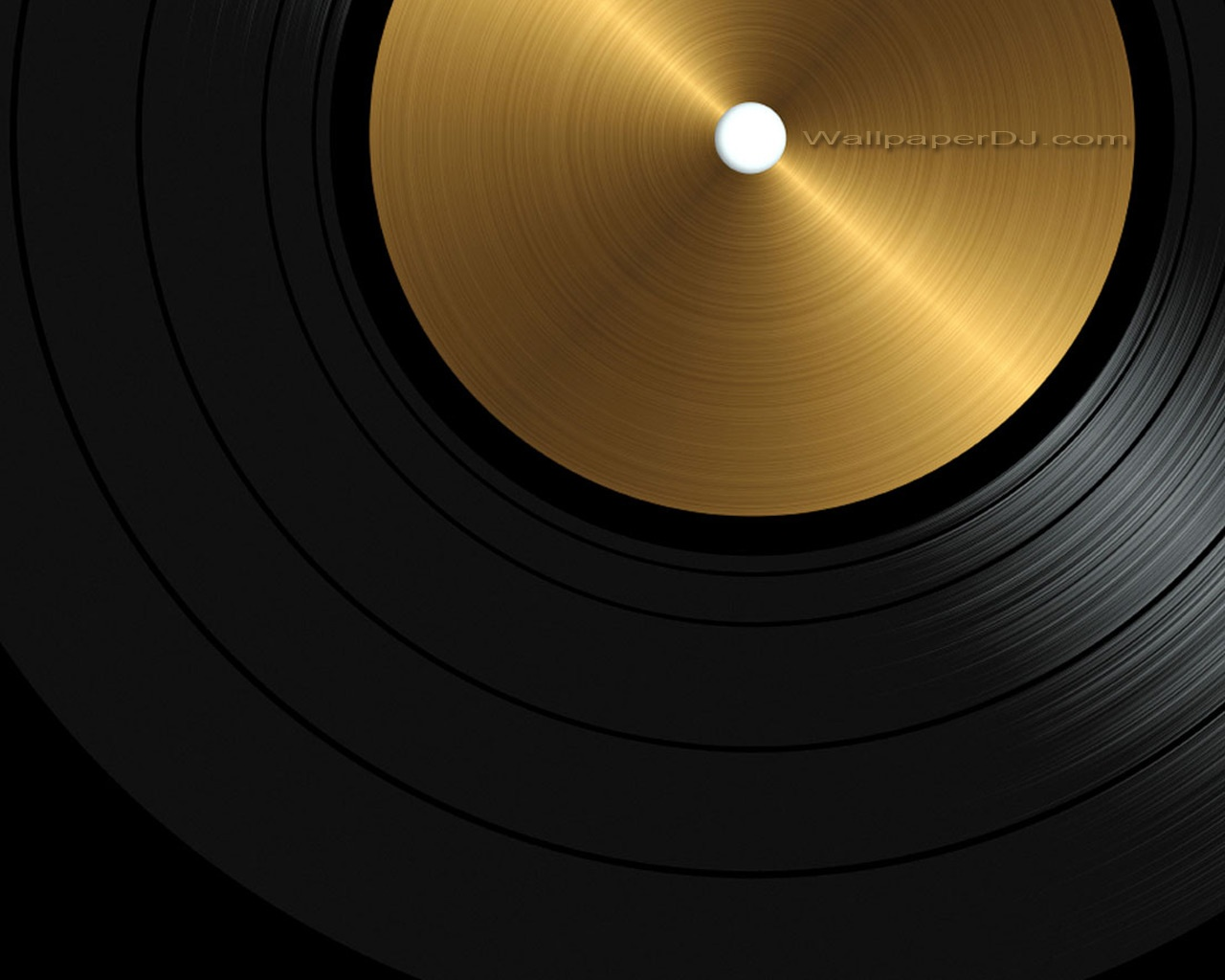 1280x1024 Golden Records Wallpaper Music And Dance Wallpapers
