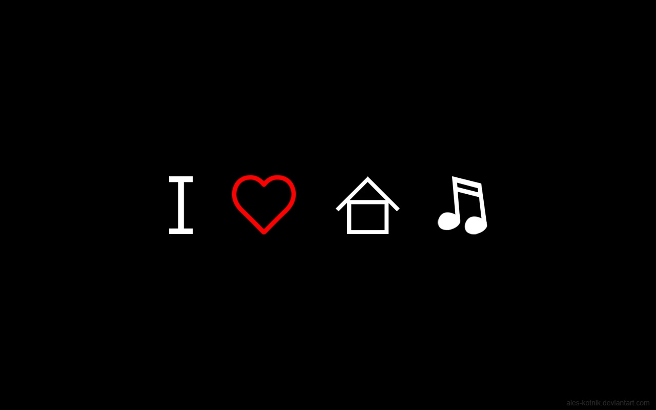 1280x800 i love house music wallpaper music and dance