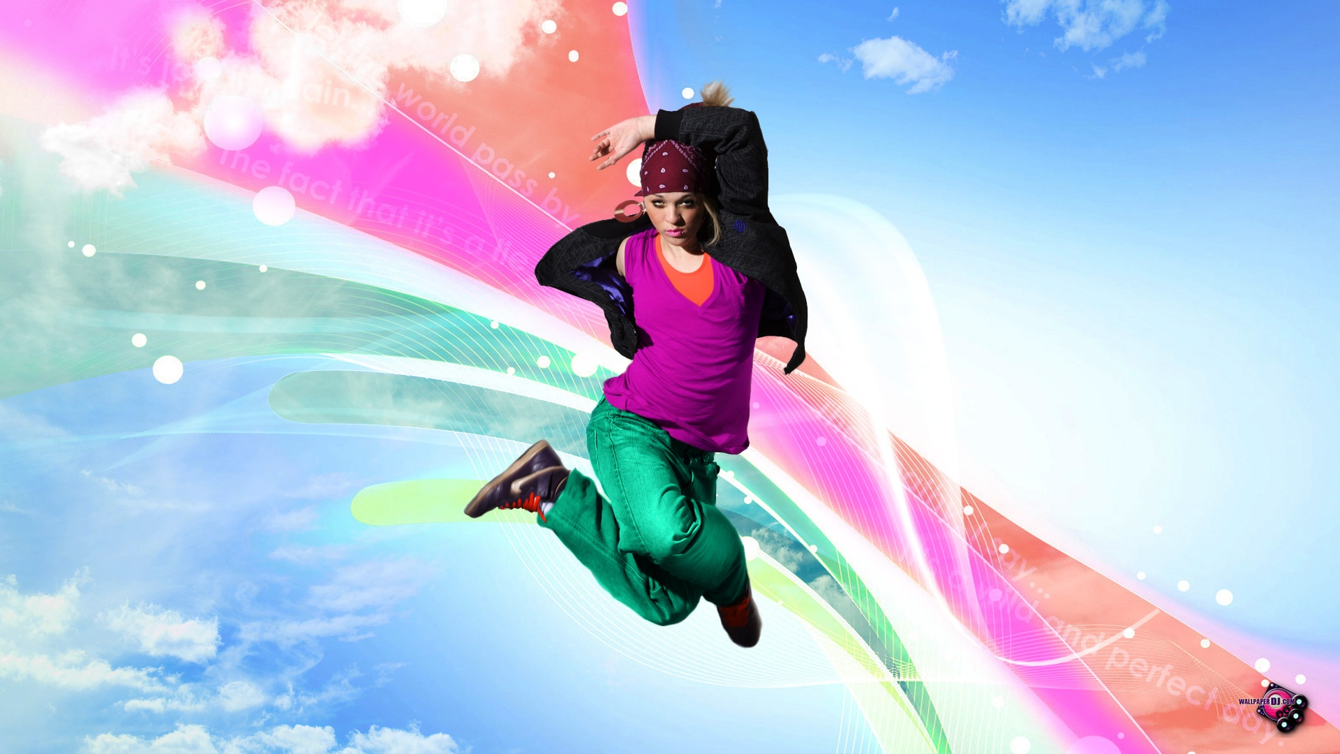 Let Go, Just Dance HD and Wide Wallpapers