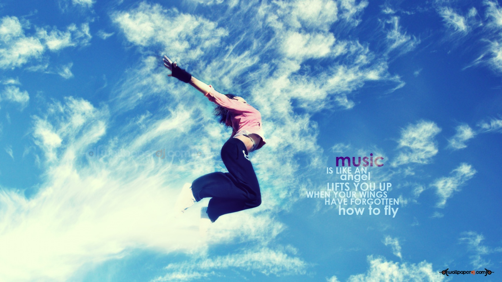 Let The Music Lift You Up  HD and Wide Wallpapers