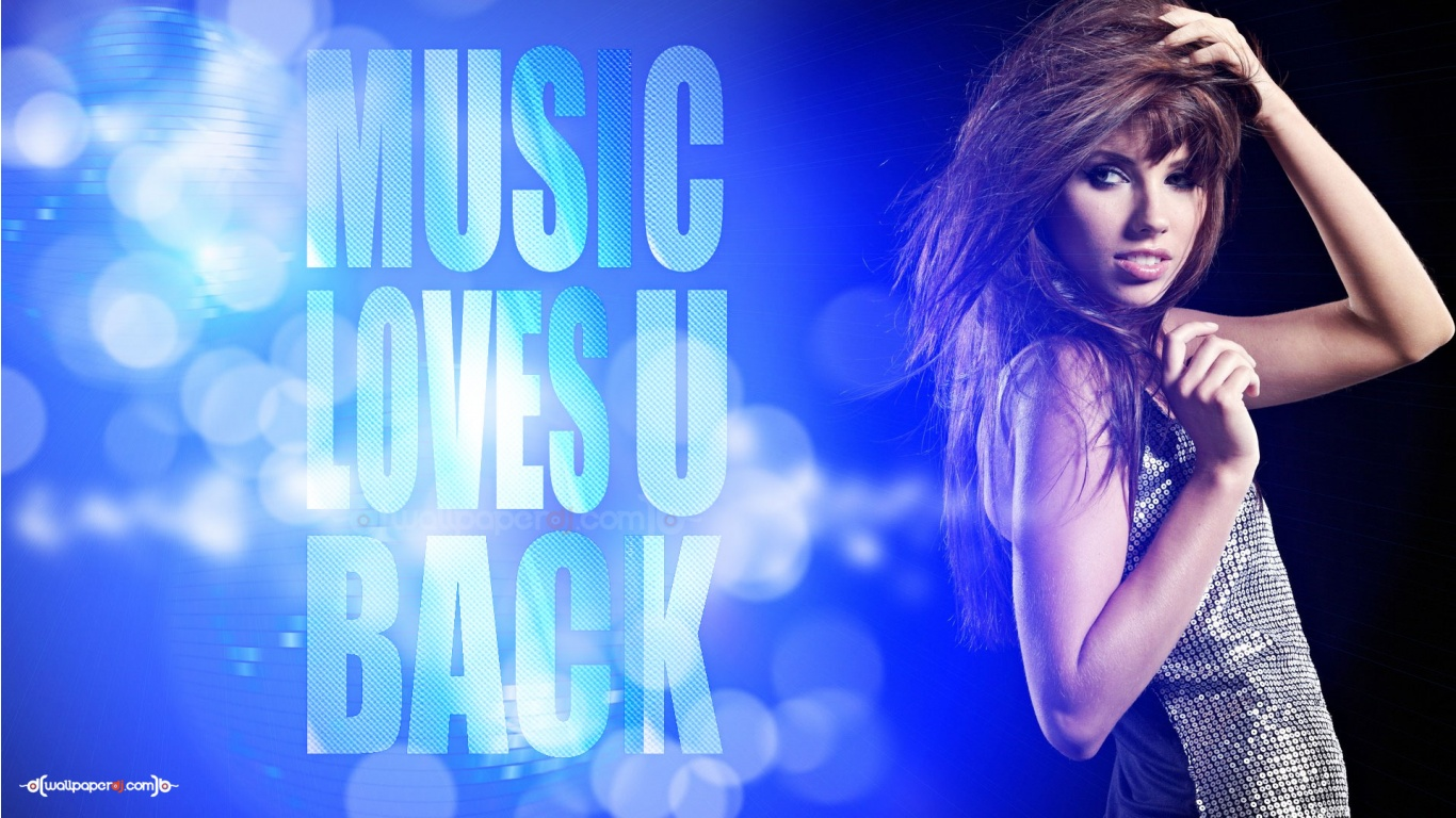 Music Loves You Back HD and Wide Wallpapers