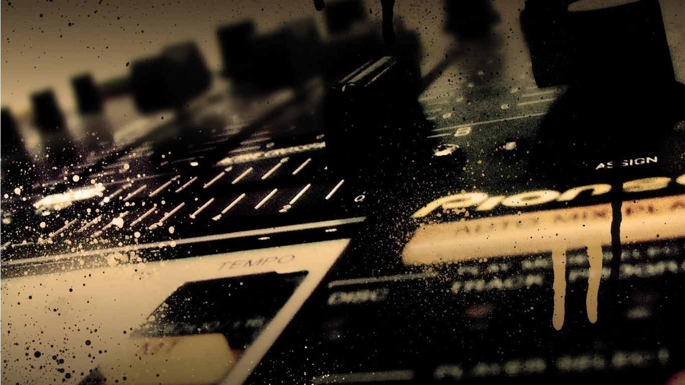 Download Dj Mixer Work 2048 X 2048 Wallpapers: 1366x768 Shadows Of A Dream Wallpaper, Music And Dance