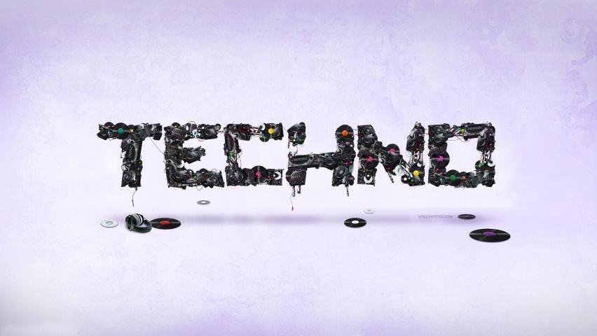techno wallpaper. Techno On Technics Wallpaper