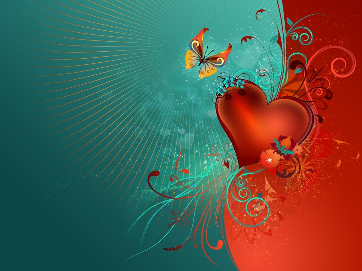 Fondos De Pantalla Gratis San Valentin 16: 1152x864 Valentine's Day Wallpaper, Music And Dance Wallpapers